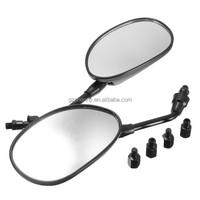 Pair 8MM 10MM Universal BLACK Rearview Side Mirrors For Motorcycle ATV For Honda Yamaha/Kawasaki z750/Suzuki/Ducati