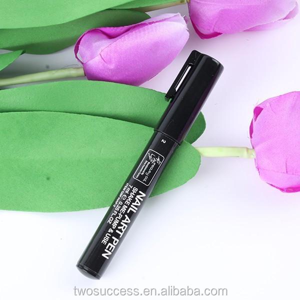 2016 wholesale Nail Art Polish Painting Drawing Design Tool Nail Art Pen