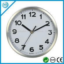 25cm del reloj de pared de metal