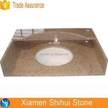 100% Rusty Color Natural Granite Chemical Resistant Countertop