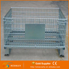Aceally Heavy Warehouse Folding metal storage cage