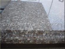 cheap granite g648 peach red, zhangpu red granite g648 slabs