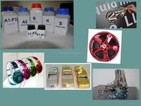 Mirror silver gold spray chrome chemicals/ chrome paint/ spray paint for spectra chrome