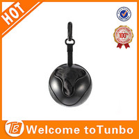 Recycled promotional products, ball shape ripstop foldable polyester bag shopping