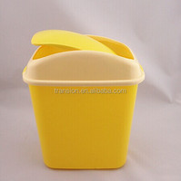 CCHG-012 PP Mini Waste Bin Garbage Bin with Moving lid in different colors