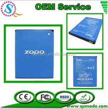 High Quality Mobile Phone Battery For ZOPO BT78S AKKU C2 C3 ZP980 980 Batteria Batterie