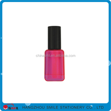 Advertising promotional multi color nail polish bottle fluorescent pen