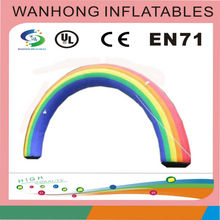 Good price rainbow inflatable arch/inflatable archway for commercial