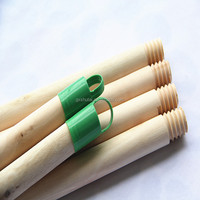 Natural wooden mop handle with long household straight