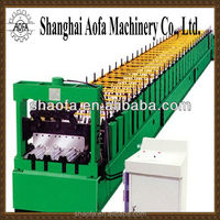 Corrugated Metal Sheet Floor Deck Roll Forming Machine For Roof / Wall Panel