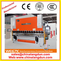 Factory direct sale Hydraulic metal plate bending machine ,maquinas dobladoras