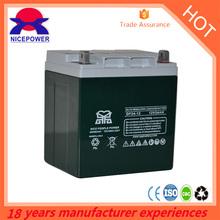 small AGM battery 12v 18ah sealed lead acid battery
