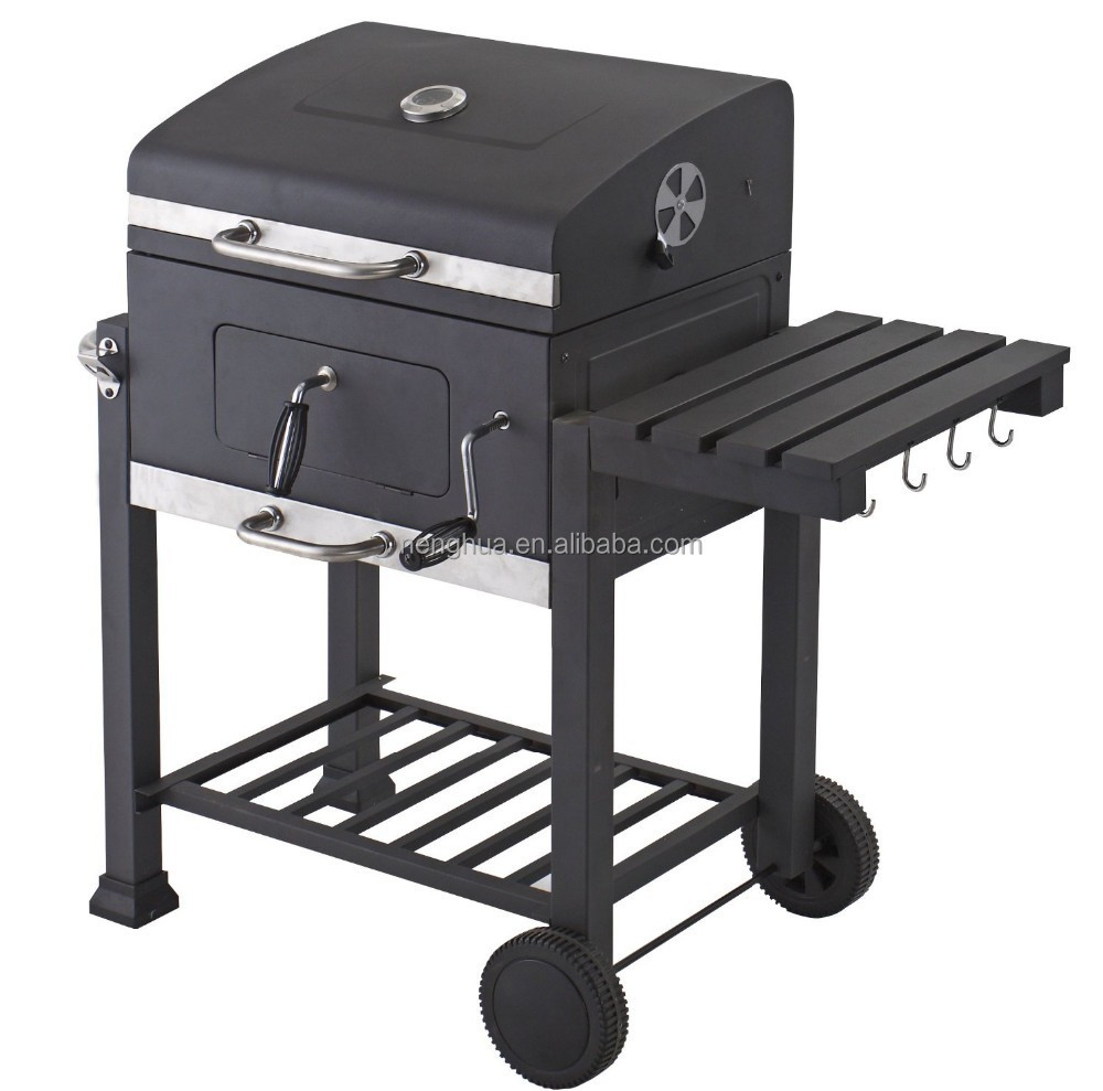 2015 extra large heavy duty charcoal bbq somker grill for. Black Bedroom Furniture Sets. Home Design Ideas