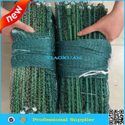 1.5M Collapsible Lobster Shrimp Trap Cast Fishing Net Cage - Green