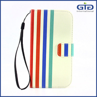 [GGIT] Smart phone wallet style Universal Leather Case for Mobile Phone