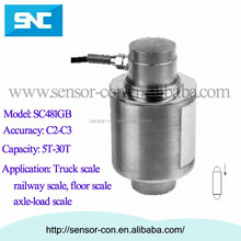 SC481GB Digital Column Sensor/cylinder type load cell for truck scale 5T, 10T, 15T, 20T, 25T, 30T