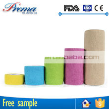 Own Factory Direct Supply Non-woven Elastic Cohesive Bandage modern die cut adhesive 4.5m tape