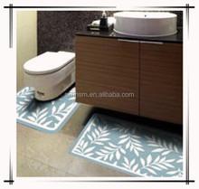 Plastic bath toilet mats