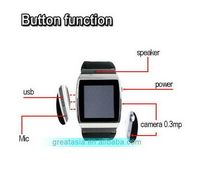 New products best sell unlocked watch mobile phone