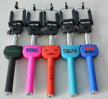 control remoto para el iphone, extensible de la cámara disparador inalámbrico de control remoto, monopod con bluetooth