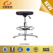 modern metal swivel bar stool high chair with 5 years warranty