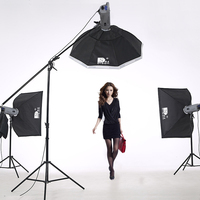 Dison lightng set with photo studio backgrounds photography equipment studio lighting