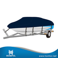 Homful lightweight boat cover , cheap boat cover, high quality boat cover