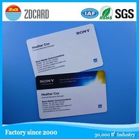 400gsm paper full color on 2 sides printed nfc business card