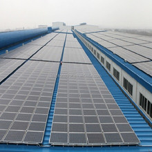 Solar Mounting System /Aluminum PV Solar Panel Mounting Brackets for Metal Roof