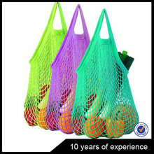 Latest Wholesale Top Quality reusable produce mesh bag with drawstring from China workshop