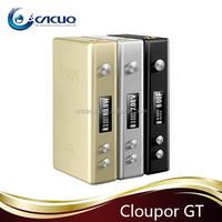 Wholesale electronic cigarette 100% original Cloupor GT mod cloupor gt 80 TC box mod