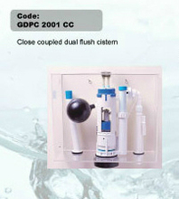 close coupled cisterna de doble descarga
