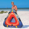 Inflatable water skiing for water park for people ,Inflatable snow ski for kids , inflatable skiing for adults