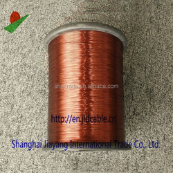 Enamel Copper Wire Copper / Aluminum / CCA Conductor Round Magnetic Wire Enameled