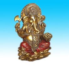 New figurine hindu elephant ganesh Resin hindu god statue