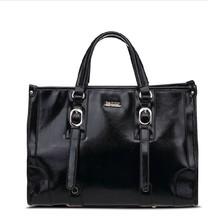 Popular imitation leather branded design woman barrel bag