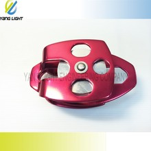 Taiwan New Mobile Adjusted Coloful Metal Roller 8 groove Pulley