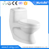 New design ceramic siphonic one piece closet toilet