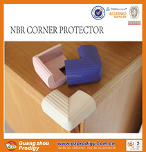 good-looking vein surface rubber corner protector(free sample)