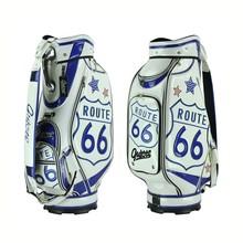 """Custom Golf Bags Guiote for Man, 10"""" top-cuff, PU Leather, Golf Bags Manufacture Design"""