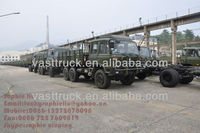 6x6 Dongfeng Army All-Wheel Drive Cargo Truck