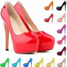 SAA4617 Lady shoes fancy high platform sexy night party 14cm high heel women fashion shoes