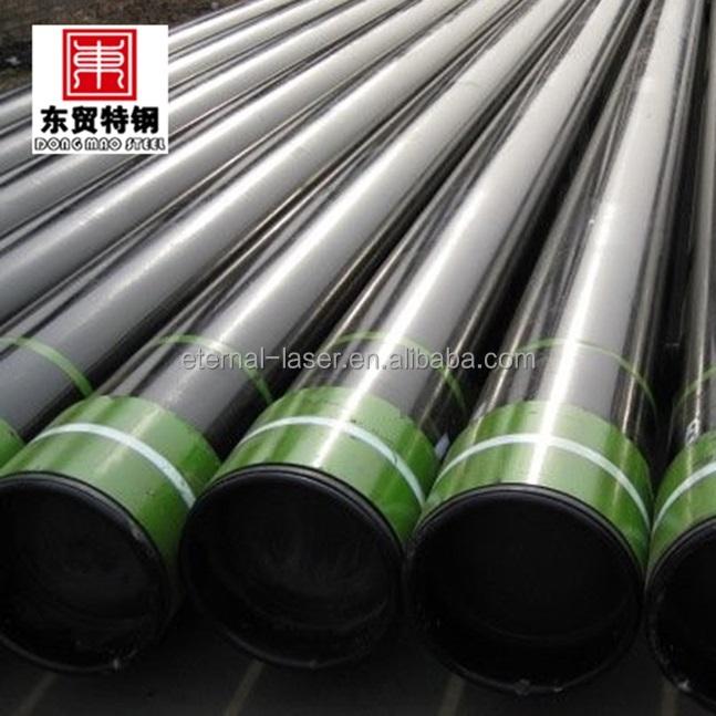 Api 5ct tubo de cobertura para indústria de petróleo e gás