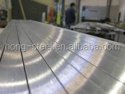 304 quality Stainless Steel Sheet hairline surface with pvc price 1.4301grade
