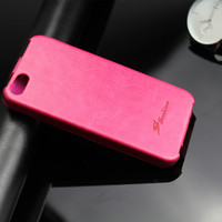 2014 new arrival Learther Flip Up Down Case Cover For iphone5