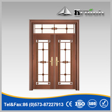 New Design Good-looking High Quality Highly Imitative Copper Steel Door