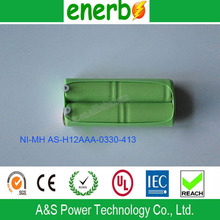 2015 Most Popular Ni-MH 330mAh 2.4V AAA Battery Made in China on Sale