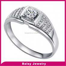 china supplier Fashion bulk sale mens sterling silver ring settings