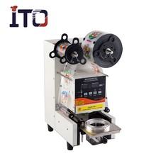 SI-FA95W Automatic Plastic Cup Sealing Machine/Cup Sealer