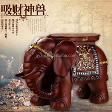 home decoration items arts and craft beautiful elephant figurines footstool